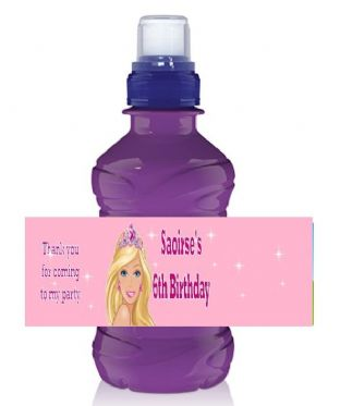 Barbie Bottle Label Wrapper